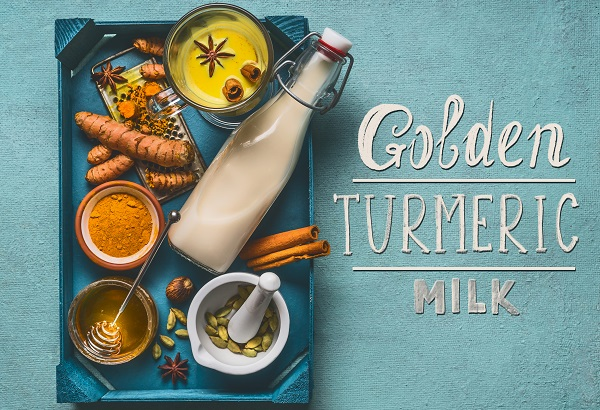 golden turmeric milk unmade